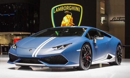 Lamborghini Huracan LP 610-4 Avio special edition hits Geneva
