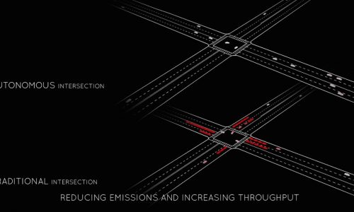 Researchers come up with interesting no-traffic-light intersection (video)