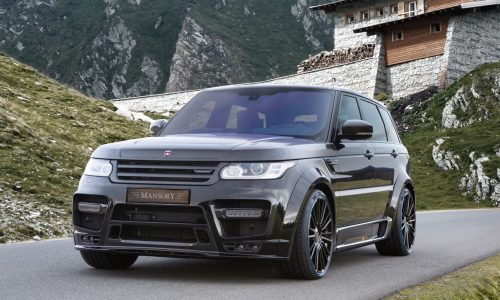 Mansory gives Range Rover Sport full carbon fibre body