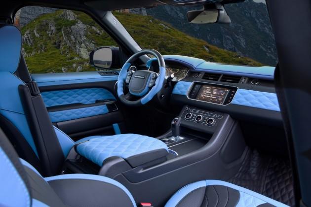 Mansory Range Rover Sport-interior