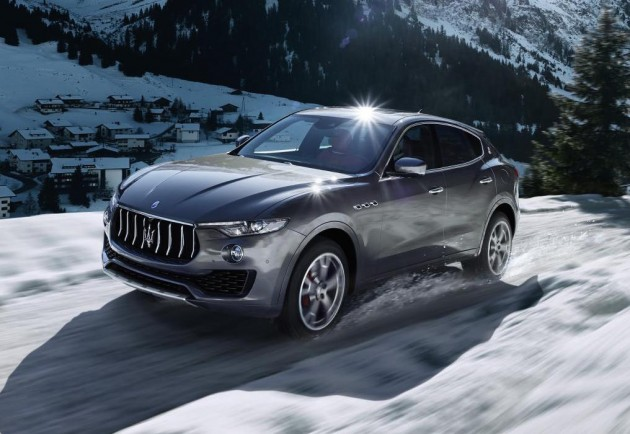 Maserati Levante-snow