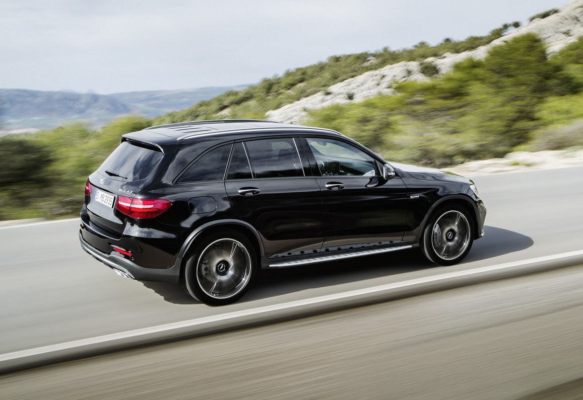 mercedes amg glc 43 revealed quickest most powerful suv in class performancedrive. Black Bedroom Furniture Sets. Home Design Ideas