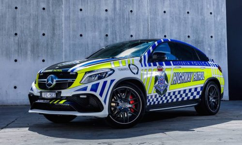 Victoria Police recruits $200k Mercedes GLE Coupe highway patrol car