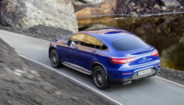 Mercedes-Benz GLC Coupe-rear