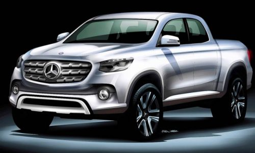 Mercedes-Benz 'X-Class' pickup/ute to debut at Paris show?