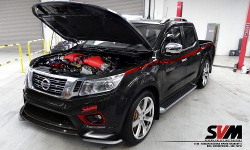 Nissan Navara NP300 gets 800hp GT-R engine conversion