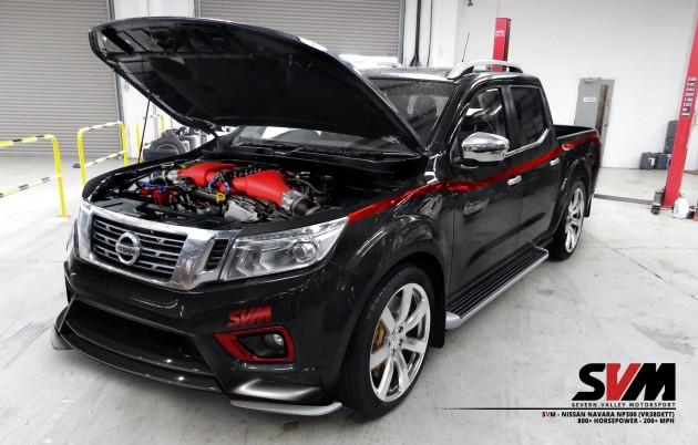 Nissan Navara NP300 GT-R engine