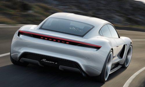 Porsche considering battery supplier for Mission E Tesla rival