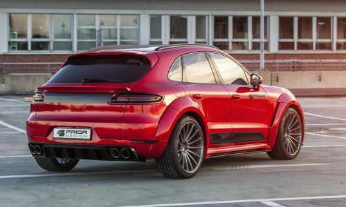 Prior Design develops beefy styling kit for Porsche Macan; PD600M