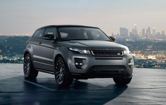special editions Range Rover Evoque Victoria Beckham