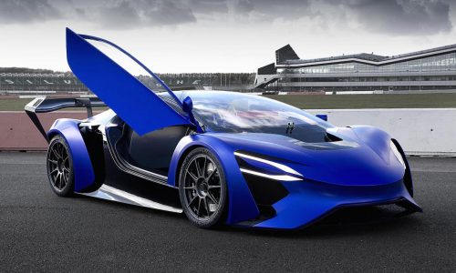 Techrules Turbine-Recharging Electric Vehicle (TREV) concept unveiled