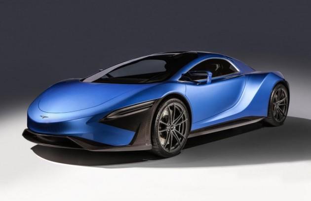 Techrules GT96 TREV supercar concept