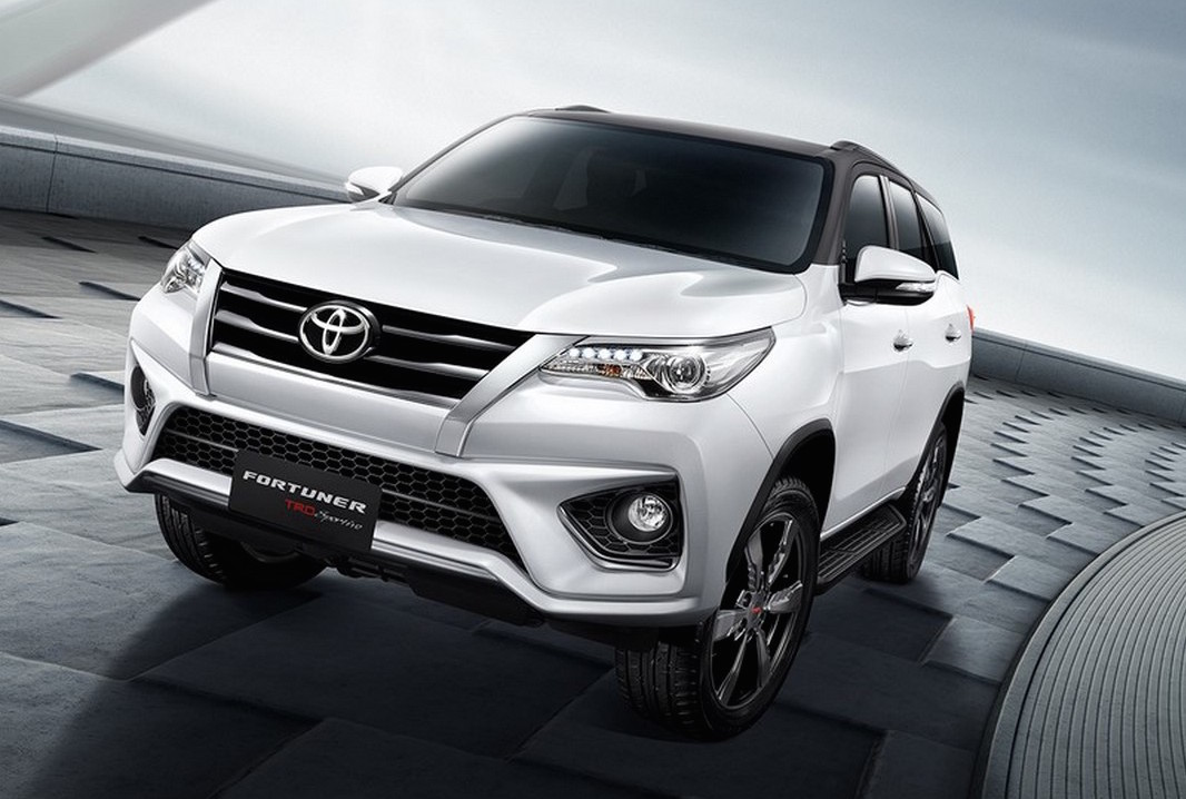 Toyota Fortuner 2017 Price >> Toyota Fortuner TRD Sportivo package announced | PerformanceDrive