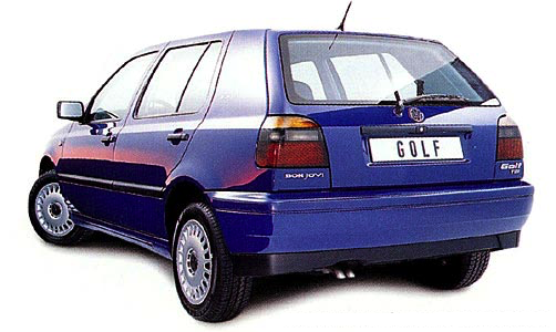 special editions Volkswagen Golf Bon Jovi