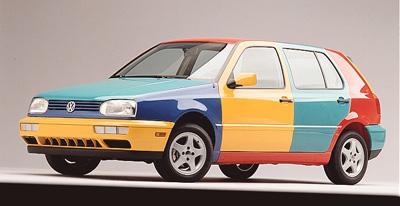 special editions Volkswagen Golf Harlequin