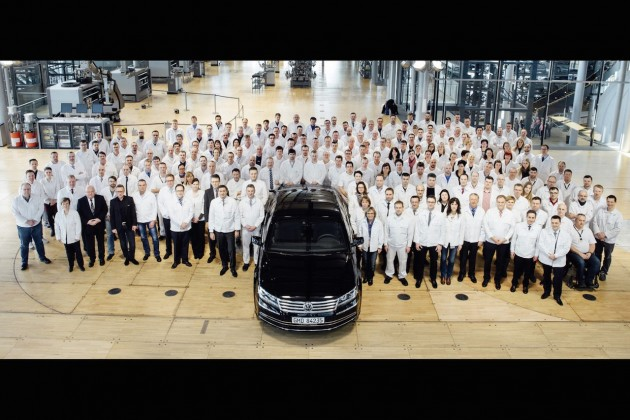 Volkswagen Phaeton production