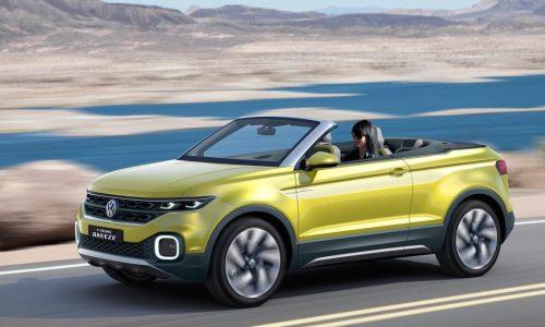 Volkswagen T-Cross Breeze hints at possible open-top SUV
