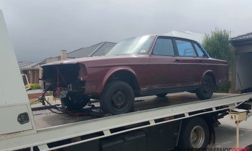 Volvo 240 GL with LS1 V8 conversion project: Part 7 – Powerglide