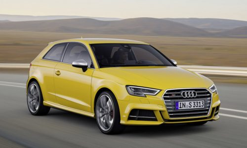 2016 Audi A3 & S3 facelift revealed; increased tech, S3 gets more power