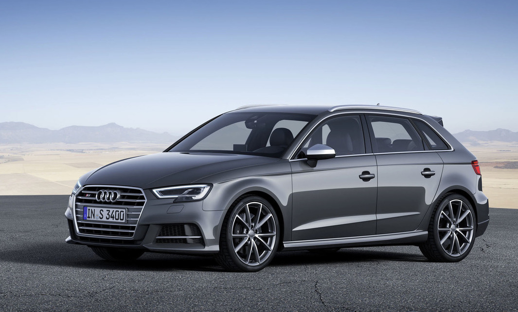 2016 audi a3 s3 facelift revealed increased tech s3. Black Bedroom Furniture Sets. Home Design Ideas