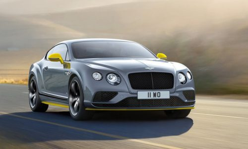 Bentley Continental GT Speed & Black Edition announced
