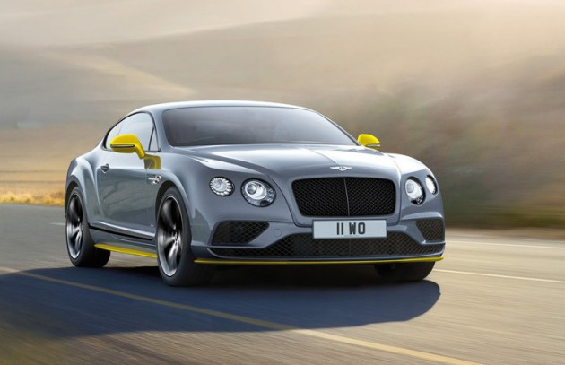 2016 Bentley Continental GT Speed Black Edition-front