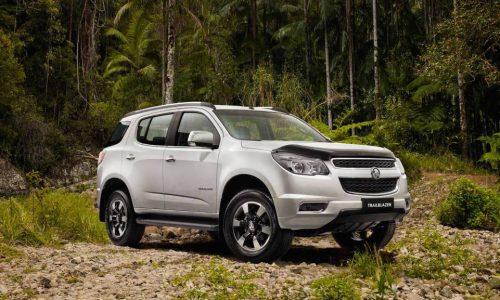 Holden announces Trax Active, Colorado 7 Trailblazer, Colorado Storm specials