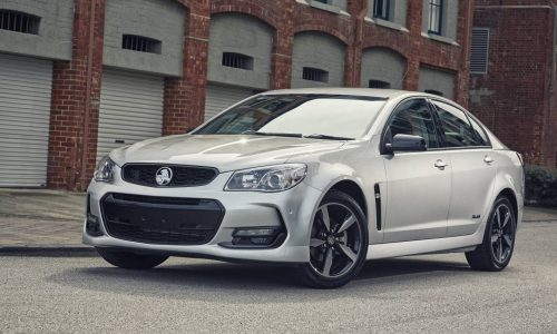 2016 Holden Commodore Black Edition announced