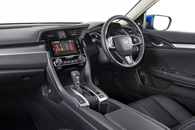 2016 Honda Civic RS sedan-interior