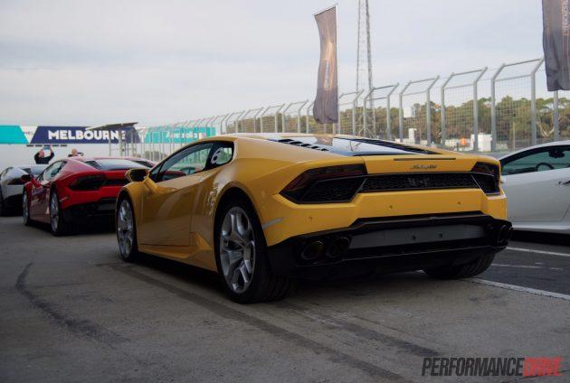 2016 Lamborghini Huracan LP 580-2 Australia-rear