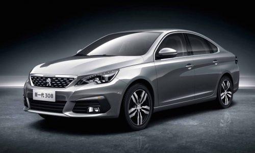 New China-only Peugeot 308 sedan & 3008 revealed