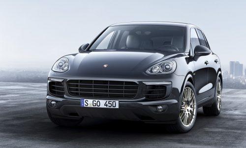 Porsche Cayenne Platinum Edition on sale in Australia from $110,700