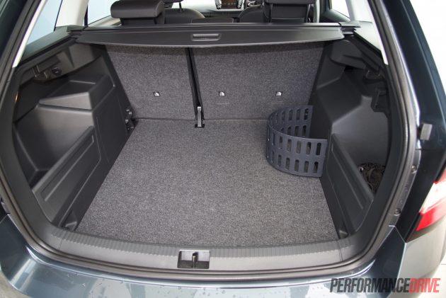 2016 Skoda Fabia 81TSI wagon-cargo space