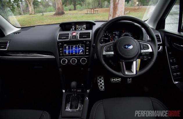 2016 Subaru Forester XT-dash
