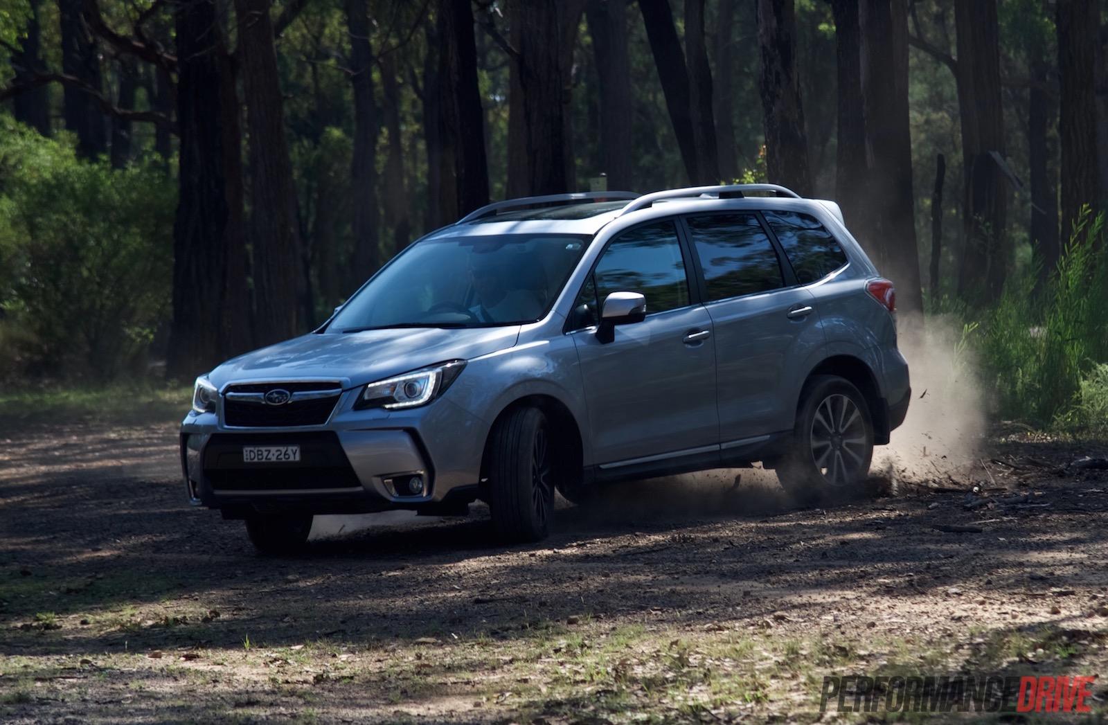 Subaru Forester Off Road >> 2016 Subaru Forester XT Premium review (video) | PerformanceDrive