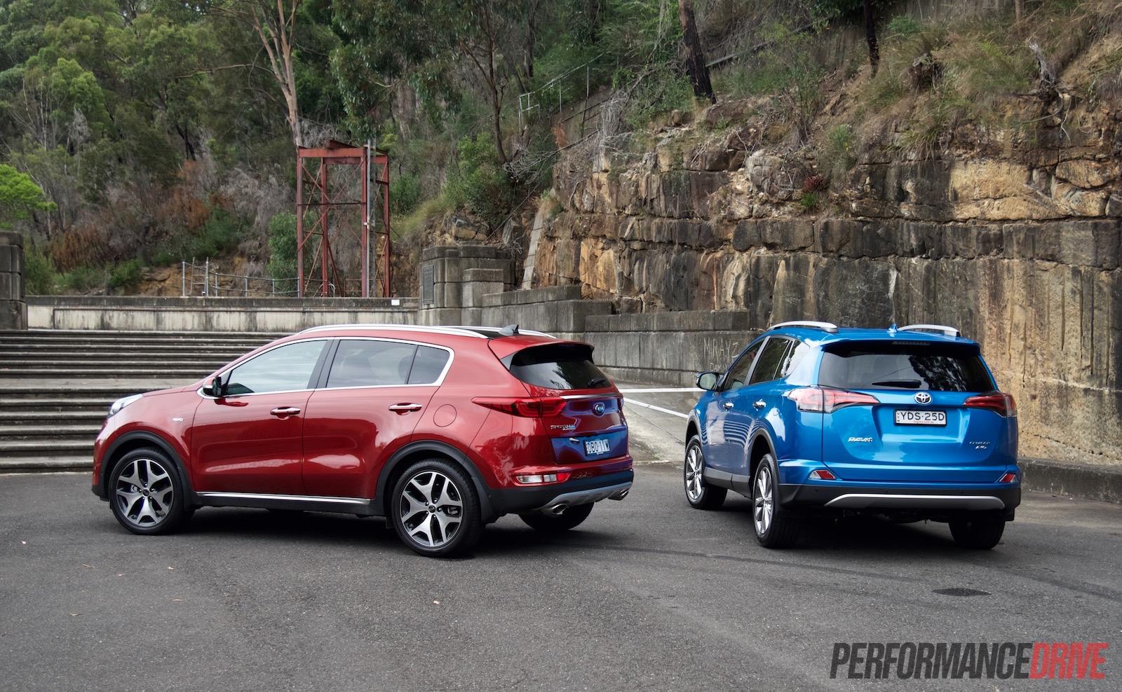 Toyota RAV4 Vs Kia Sportage: Fleet Car Comparison