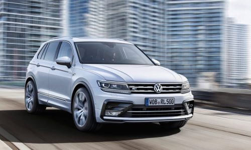 New Volkswagen Tiguan picks up 'DesignTrophy2016' award