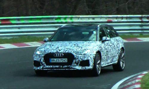 Video: 2017 Audi RS 4 Avant prototype spotted, sound of V6TT?