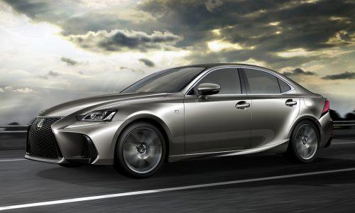 2017 Lexus IS facelift revealed at Beijing motor show