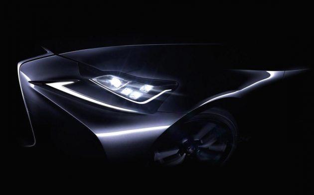 2017 Lexus IS facelift