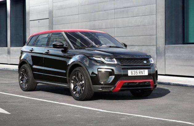 2017 Range Rover Evoque Ember edition