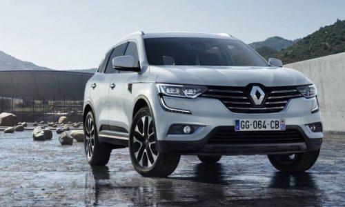 2017 Renault Koleos revealed, full debut at Beijing motor show