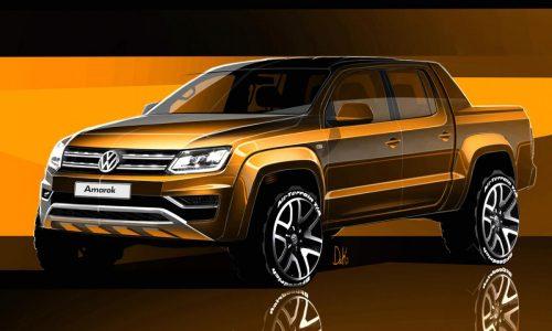 2017 Volkswagen Amarok facelift previewed