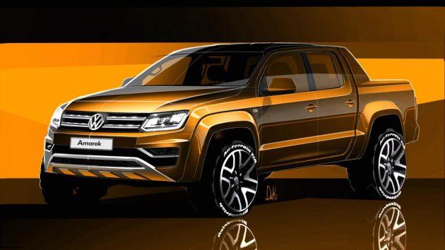 2017 Volkswagen Amarok preview