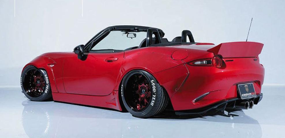 Mclaren Kit Car >> Aimgain gives new Mazda MX-5 old-school wide-body styling upgrade | PerformanceDrive