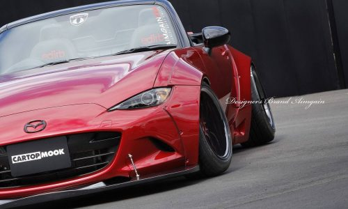 Aimgain gives new Mazda MX-5 old-school wide-body styling upgrade