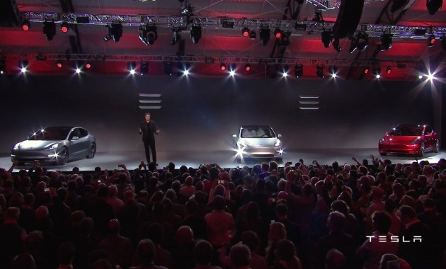 Elon Musk-Tesla Model 3