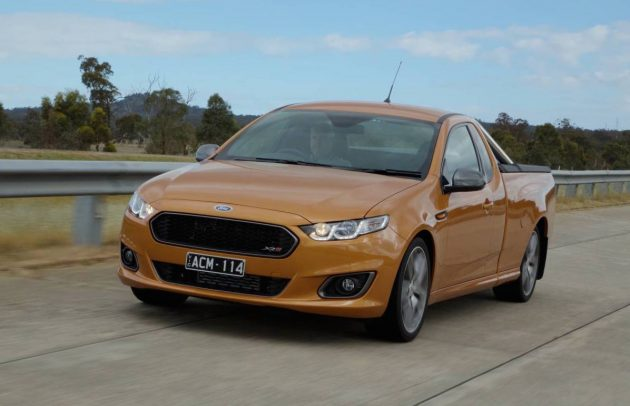 Best Sports Cars Under $40,000 Ford Falcon XR6 Turbo ute