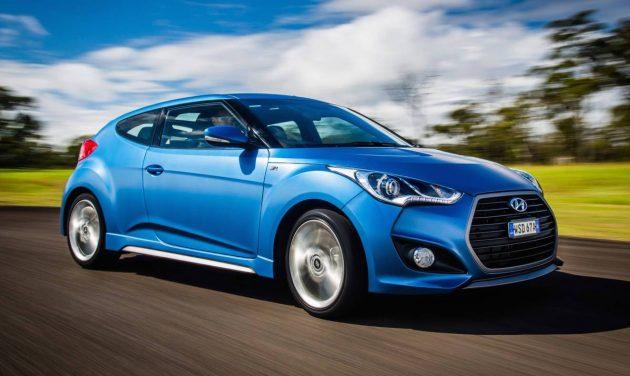 Best Sports Cars Under $40,000 Hyundai Veloster SR Turbo