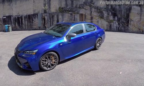 2016 Lexus GS F review (POV) on PDriveTV